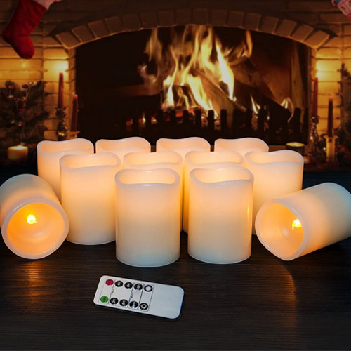 Hausware Flameless Candles – LED Candles Set of 12