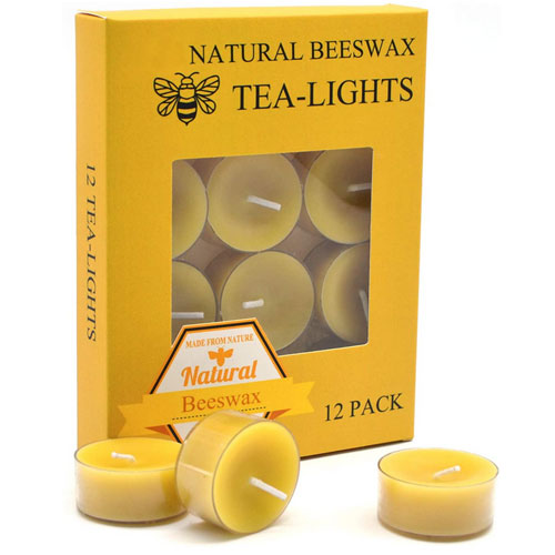 Beeswax Candles by TELOSAMA Store