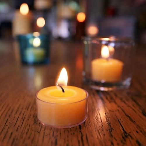 Bluecorn Beeswax Candles