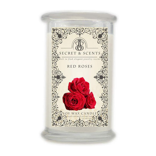 Secret and Scents Jewelry in Soy Candle