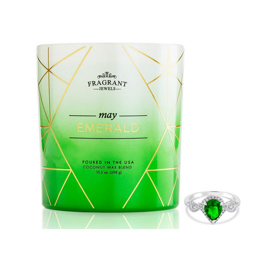 Fragrant Jewels Emerald May Birthstone Candle