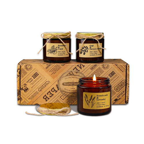 TOFU Scented Candles Gifts Set