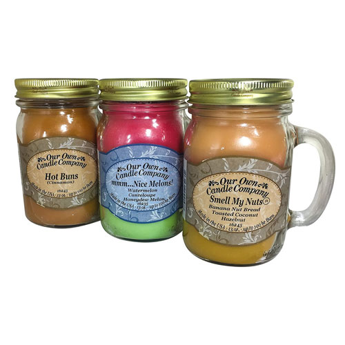 Our Own Candle Company Smell My Nuts, Nice Melons, and Hot Buns