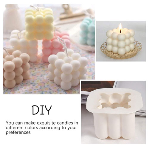 3D Soy Candle Silicone Molds Candle