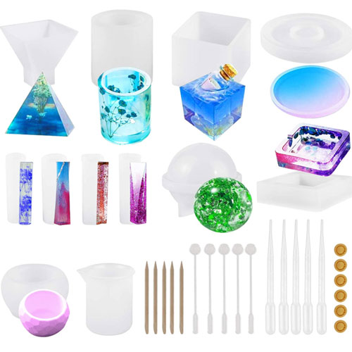 Resin Silicone Mold Large Epoxy Resin Mold for Casting Soap
