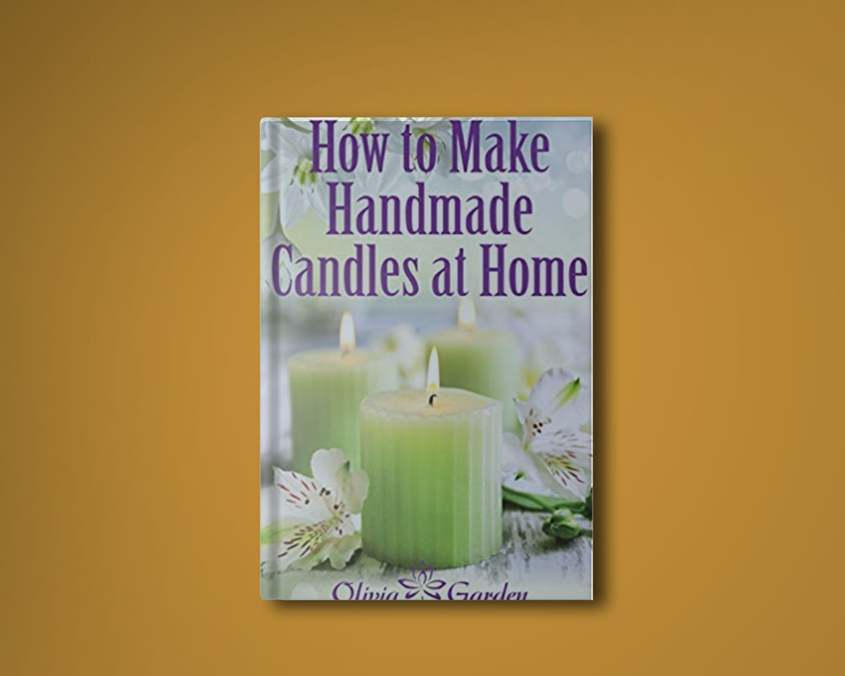 how to make handmade candles at home book