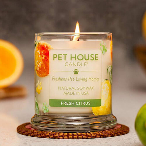 Pet House Odor Candle