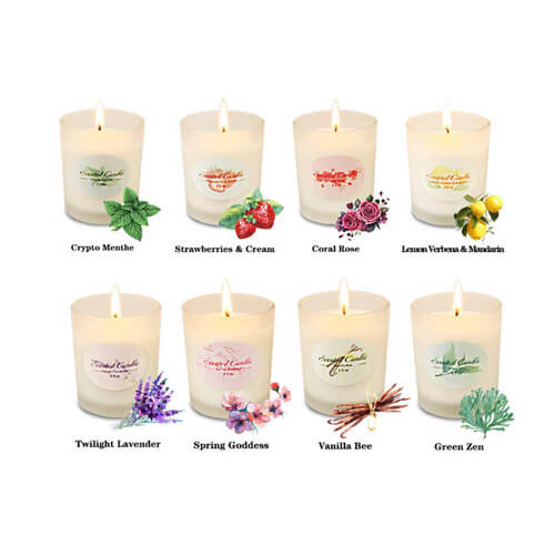 Scented Candles Aromatherapy