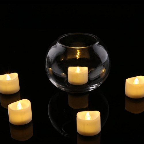 Homemory Realistic and Bright Flickering LED Candles