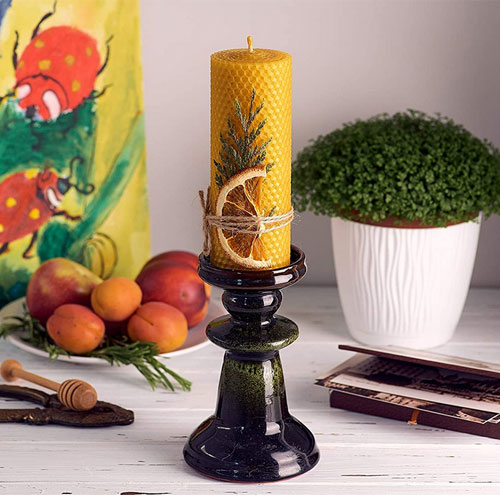 Beeswax Gifts 100% Beeswax Candles