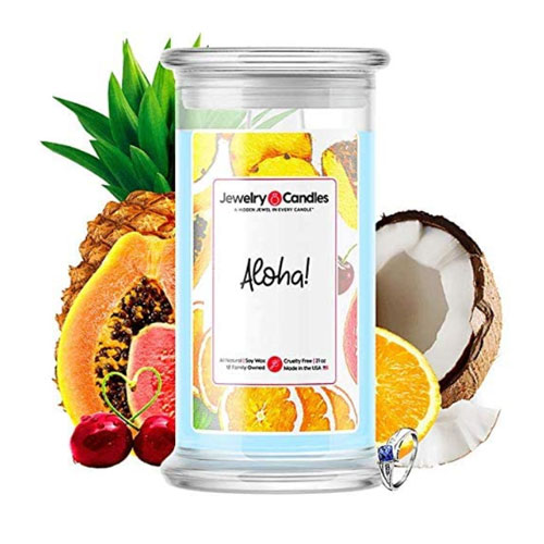 Jewelry Candles - Aloha